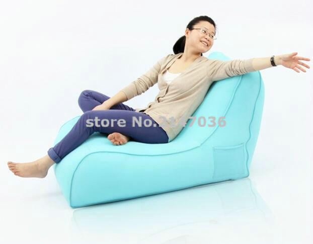 XXXL Large Giant Bean Bags Lounger cover, High Back Gaming Sofa Chair Seat Garden New , with pocket
