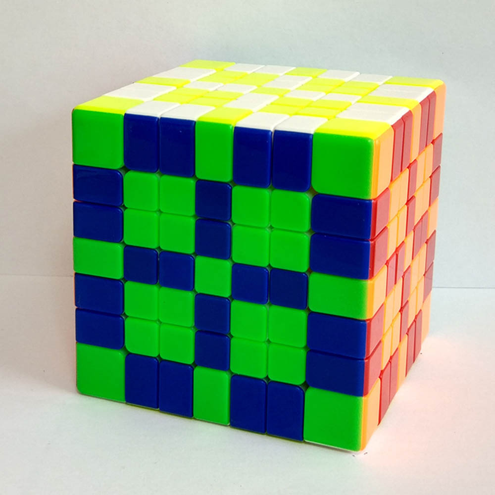 Yuxin Huanglong 7*7*7 Magique Cubes Puzzle Vitesse Cube Jouets Éducatifs Cadeaux pour les Enfants Enfants