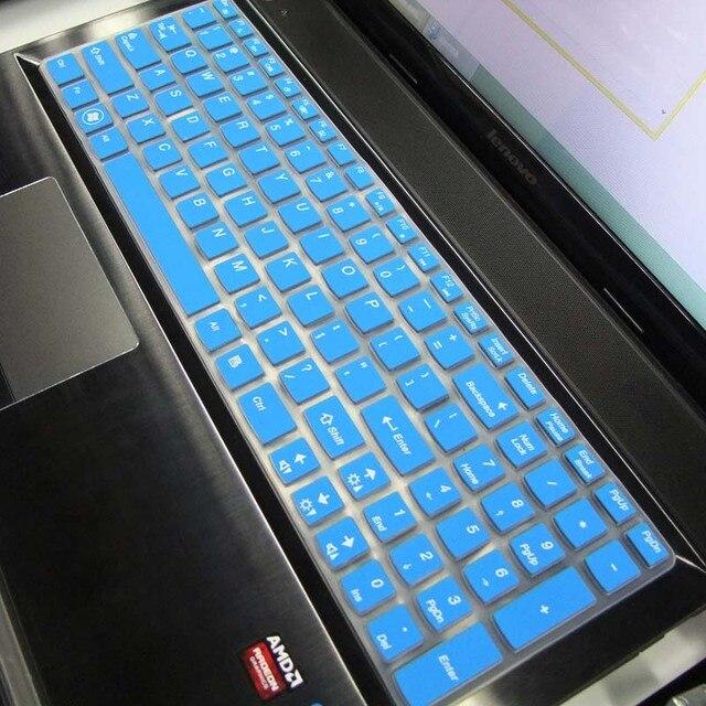 15.6 polegada Nova tampa do teclado de Silicone para Lenovo Y50-70 G50-80 Z500 B590 G510 G580 Y510P Y50 G50 Y570 Z580 Z560 b580 V580