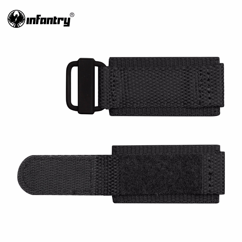 Infantry 24mm Watch Straps Heavy Duty Nylon with Hook and Loop Fastener Durable Watch Bands Watches Accessories