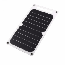 лучшая цена 10W 5V Portable Solar Power Panel Charger Phone Charging Outdoor Travel Solar Charger Phone Tablet Pad USB Charging