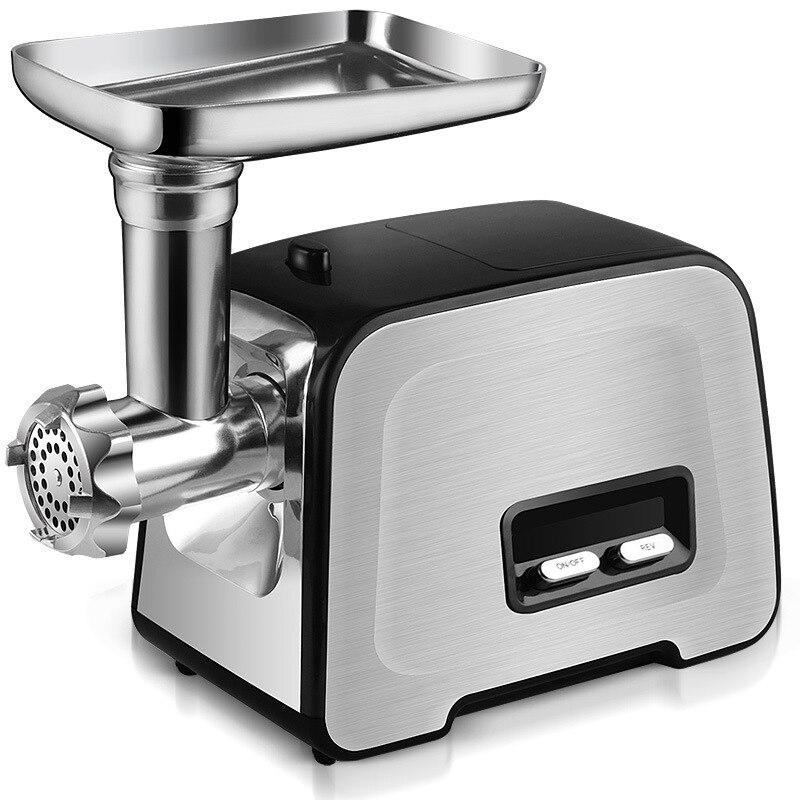 In Acciaio Inox multifunzione Per Uso Domestico a base di Carne Elettrico Grinder Minicomputer Clistere Macchina Frullatore Commerciale Mini Taglio di Carne