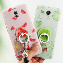 3D Fruit Huawei mate 10 lite Case Cover Silicone Soft protector case For Huawei p10 lite p9 lite mini phone cases fundas(China)
