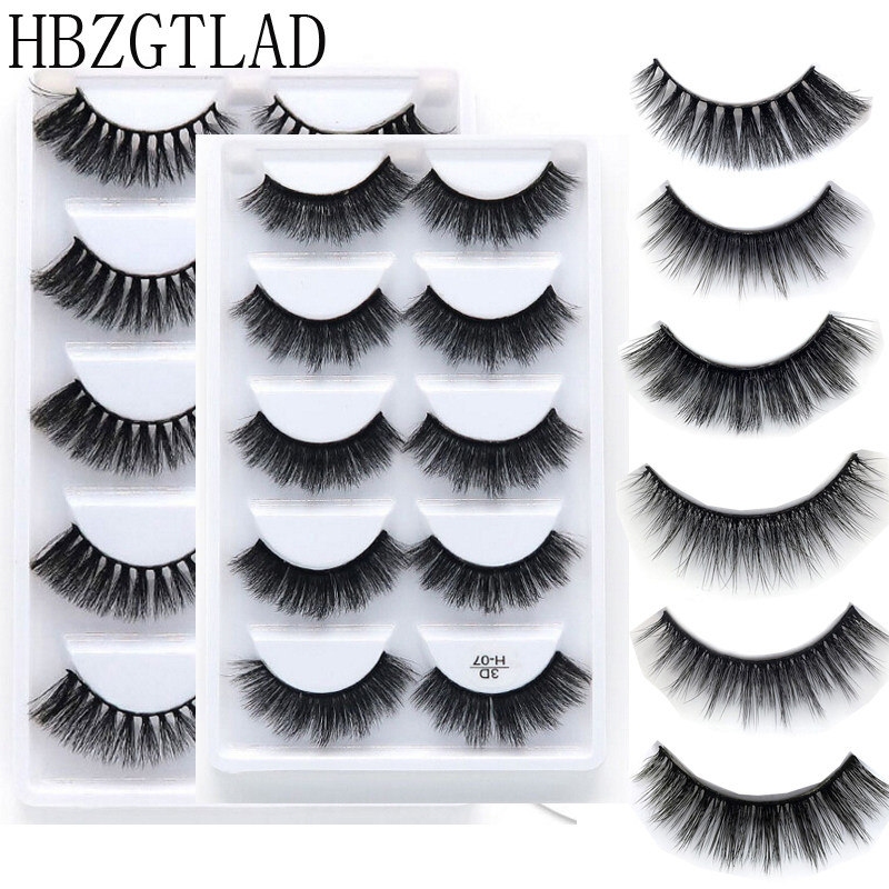 False Eyelashes Beauty Essentials Fine 1 Pair Women Lady 100% Real Hot Mink Soft Long Natural Thick Makeup Fake Eye Lashes False Eyelashes Tools