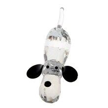 Crystal Glass Dog Figurine