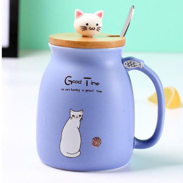 Purple - Portable Ceramic Coffee Mug