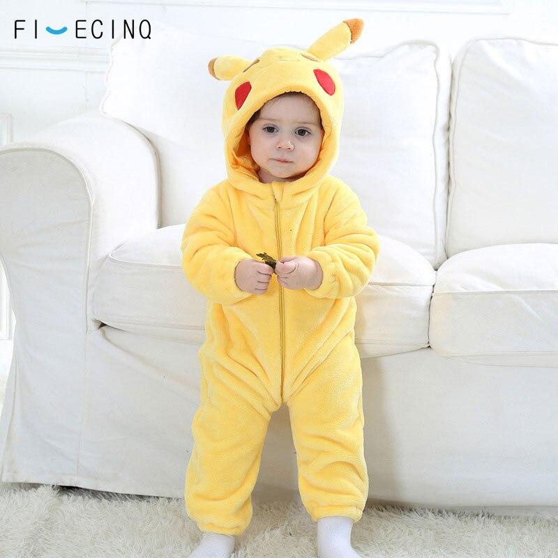 Pikachu Kigurumi Baby Onesie Anime Cosplay Costume Yellow ...