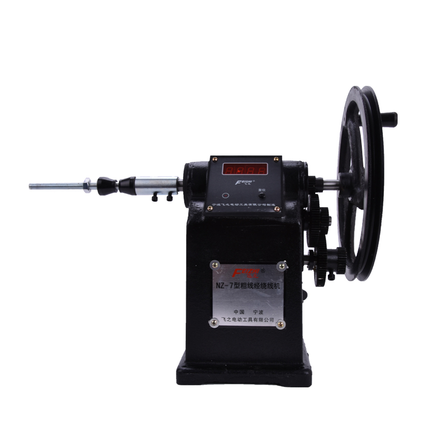 1pcs new Manual Hand Coil Counting Winding Winder Machine for thick wire 2.5mm  цены