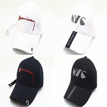 Fashion NYC Childrens Baseball Caps Cute Travel Cap Personality Comfortable Texture Hat For Boys Girls