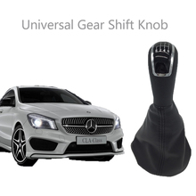 5 / 6 Speed Car Gear Shift Knob Lever Shifter Gaitor Boot for Audi A6 C5 A4 B5 A8 D2 Mercedes Benz W203 S203 W168 W202 skoda A3 5 gear 6 speed 12mm car shift gear knob for vw golf 3 4 5 passat caddy audi a3 a4 a5 a6 skoda