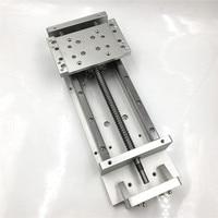 500mm Stroke Sliding Table Square Rails Linear Stage Actuator SFU1605 C7 Ballscrew Cross Slide Working Table CNC