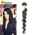 Grampo em extensões de cabelo humano onda solta malaio virgem 9A cabelo malaio não processado onda solta cabelo humano 1 PC