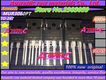 Aoweziic 2018 + 100% nowy oryginalny MUR3060PT MUR3060 TO 247 diody szybkiego odzyskiwania 30A 600 V