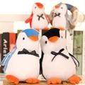 "1pcs 8"" 20cm Funny Cute kawaii bow penguin Plush Toy Soft stuffed animal For girls Children creative birthday gifts"
