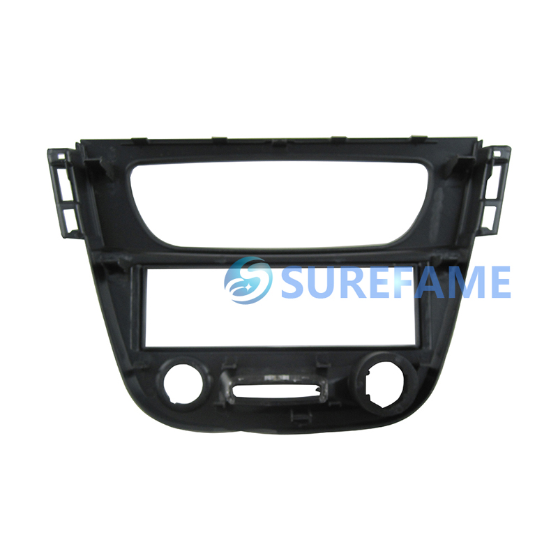 Fluence 1-Din Radio Faceplate Renault Megane 3 Black