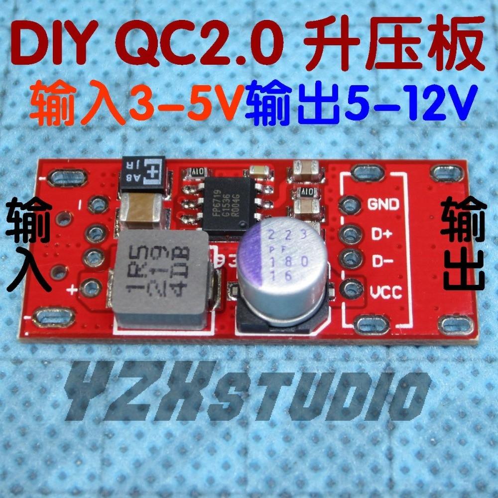 YZX adaptateur daccélération de charge QC2.0   Bricolage