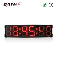 [Ganxin] 8 Большой Открытый водонепроницаемый расы таймер светодио дный цифровой таймер обратного отсчета Спортивный Матч часы