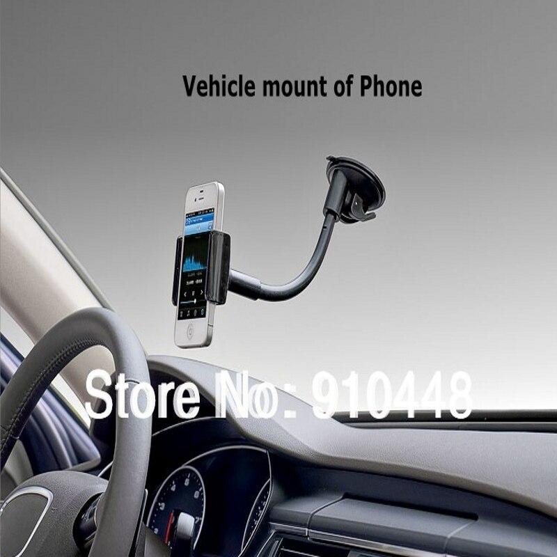 Universal Car Mount Holder para Huawei P20 P10 Para Samsung S6 S8 S9 3.5 a 5.5 polegada de 360 Graus de Rotação bracket Stents de Navegação