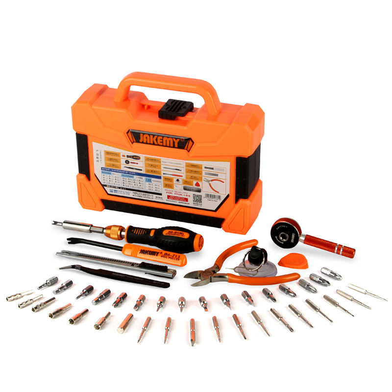 47 in 1 Precision Screwdriver Set Sockets Ratchet Wrench Knife Repair Tools Kit For Mobile Phone Computer Household Hand Tools 46pcs socket set 1 4 drive ratchet wrench spanner multifunctional combination household tool kit car repair tools set