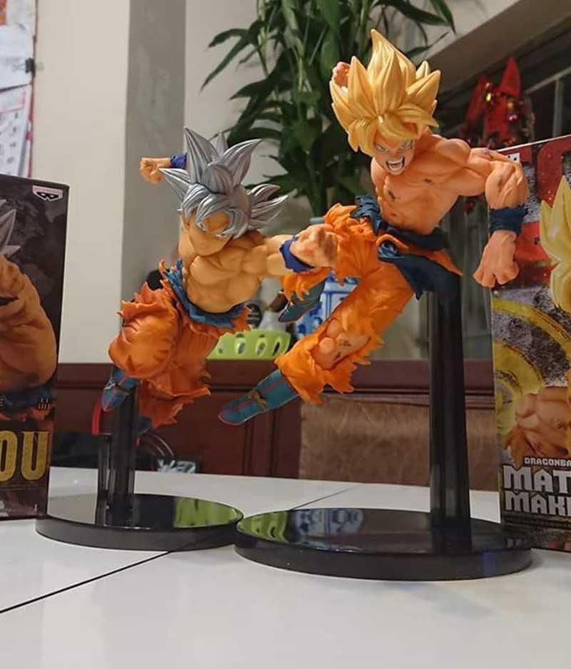 BANPRESTO Originais UI BWFC Especial ultra instinto de Dragon ball Z Goku Figura de Ação Brinquedos Bonecas Brinquedos Figurals