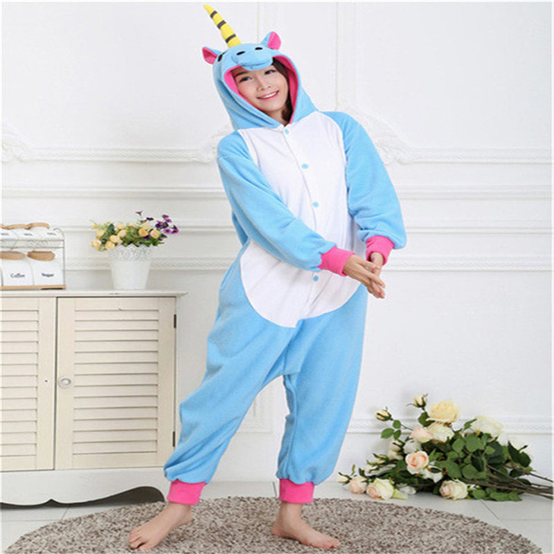 Wholesale Spring Autumn Horse Pajama Sets Cartoon Sleepwear For Men Women Flannel Animal Stitch Panda Tigger Pajamas
