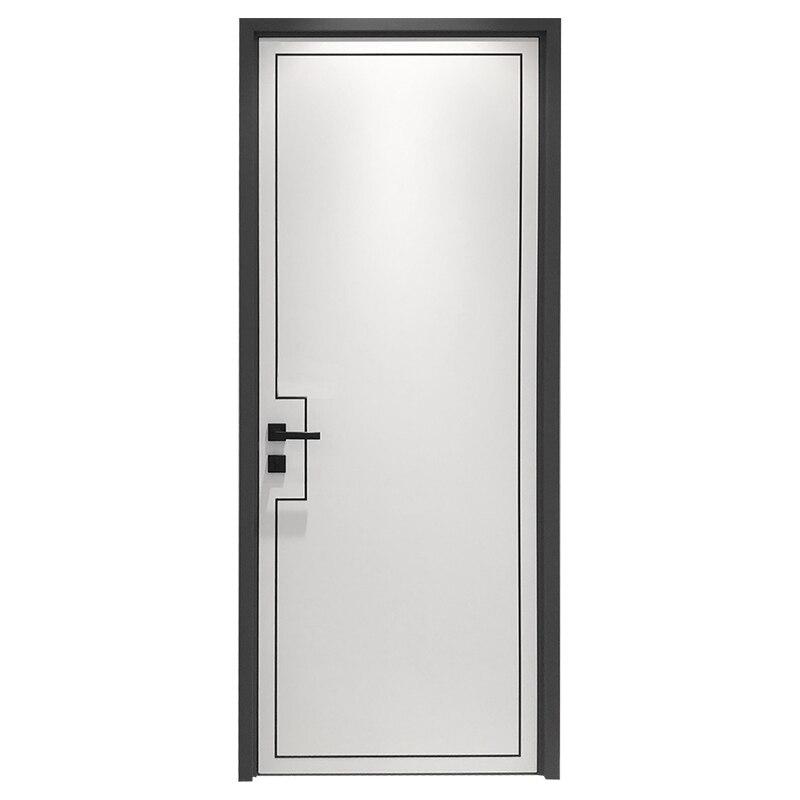 Nouveau design composé solide porte en bois MDF porte portes intérieures en bois massif sculpture design