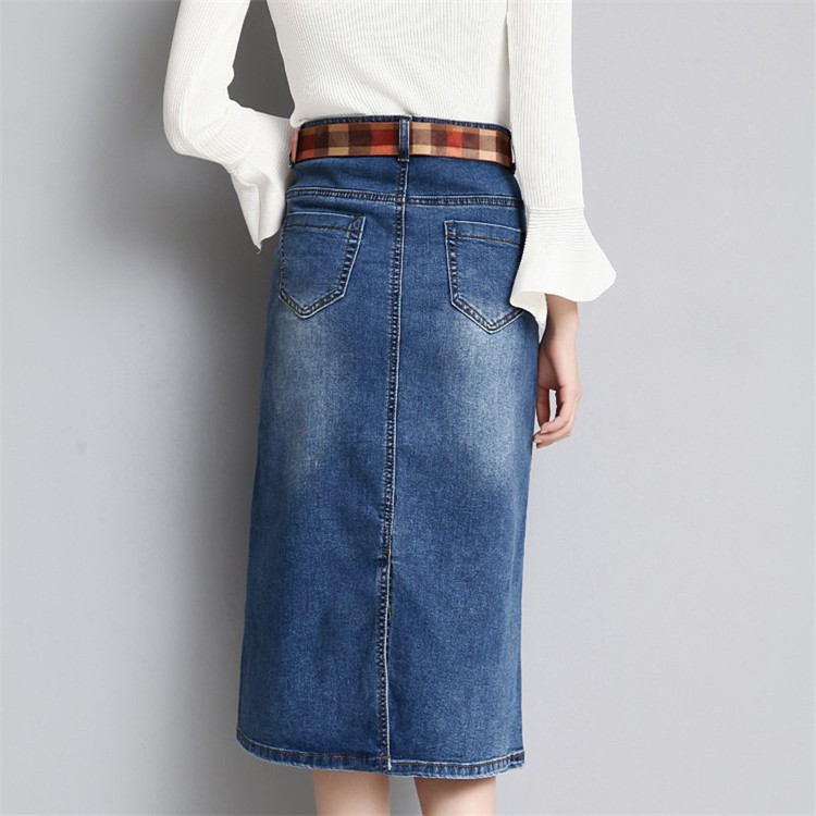 Compare Prices on Long Straight Denim Skirts- Online Shopping/Buy ...