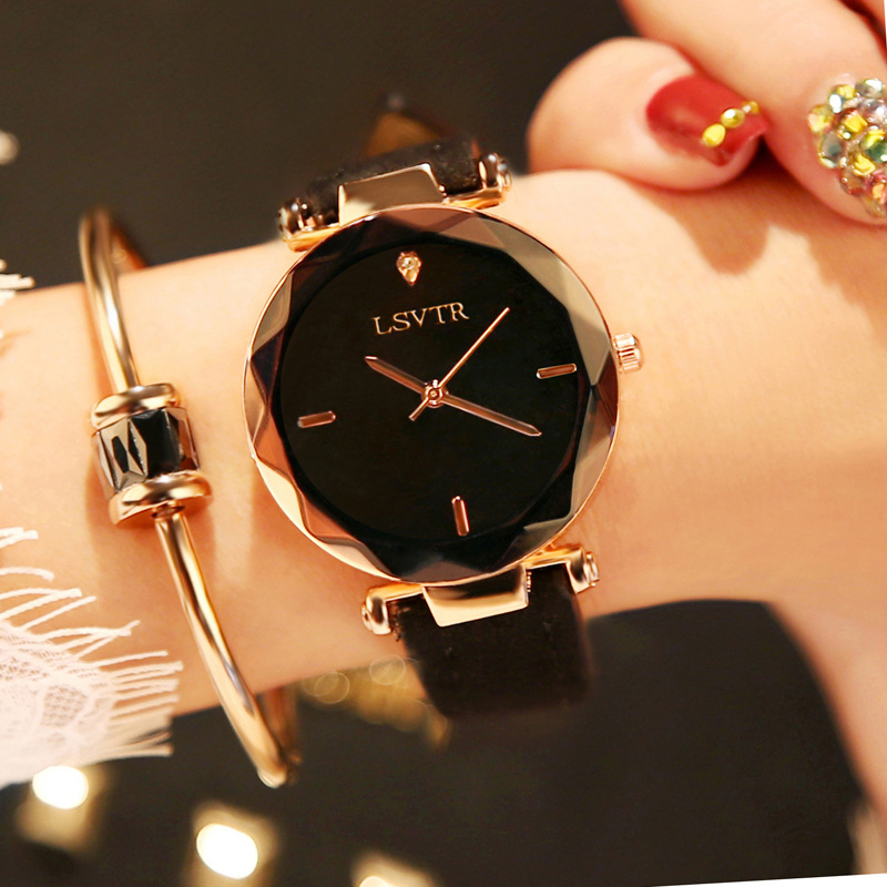 Fashion Golden Ladies Watch Women Leather Wrist Watches Diamond Gold Clock Saat Relogio Feminino bayan kol saati Accessories 2018 new arrive fashion golden ladies watch women leather wrist watches diamond gold clock saat relogio feminino bayan kol saati