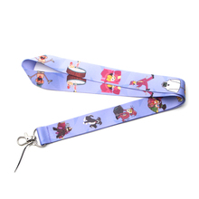 Patchfan Superjail cartoon lanyards neck straps for phones bags cameras id card holders webbing ribbons A1899