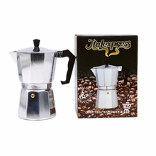 Aluminum Moka Pot Italian Espresso Maker Can Heat Easy to Use Makes  6 Cup 300ml