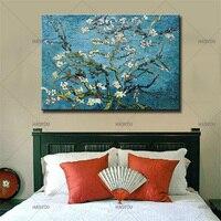 Arte de la pared Pintura Al Óleo Paisaje Clásico flor Del Ciruelo De Van Gogh Pintura Al Óleo Sobre Lienzo Lienzo Pintado A Mano Living Room Decor