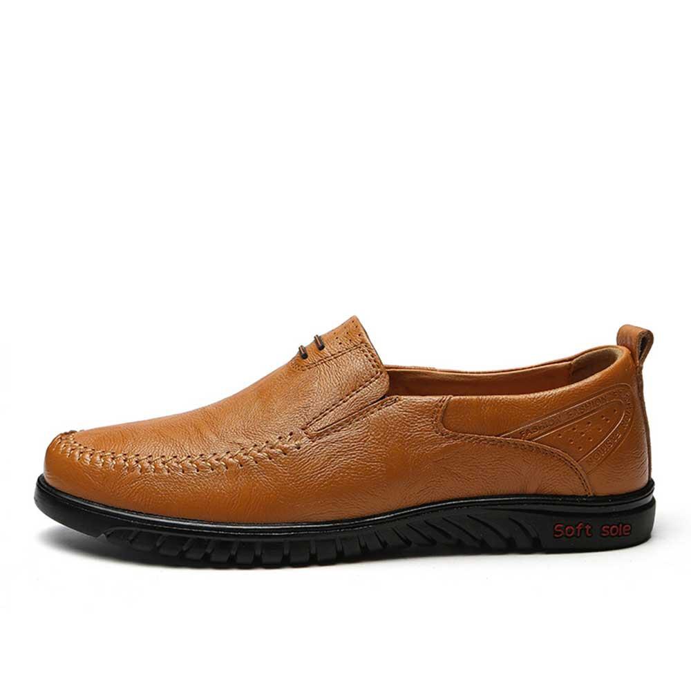 Nouvelle Hei Split Chaussures De Sur Hommes Occasionnels Arrivée Conduite Mocassins Glissement Mode Grande hongzong 46 En ~ Cuir Plates huangzong Top Taille Qualité 36 q5xtS8w1
