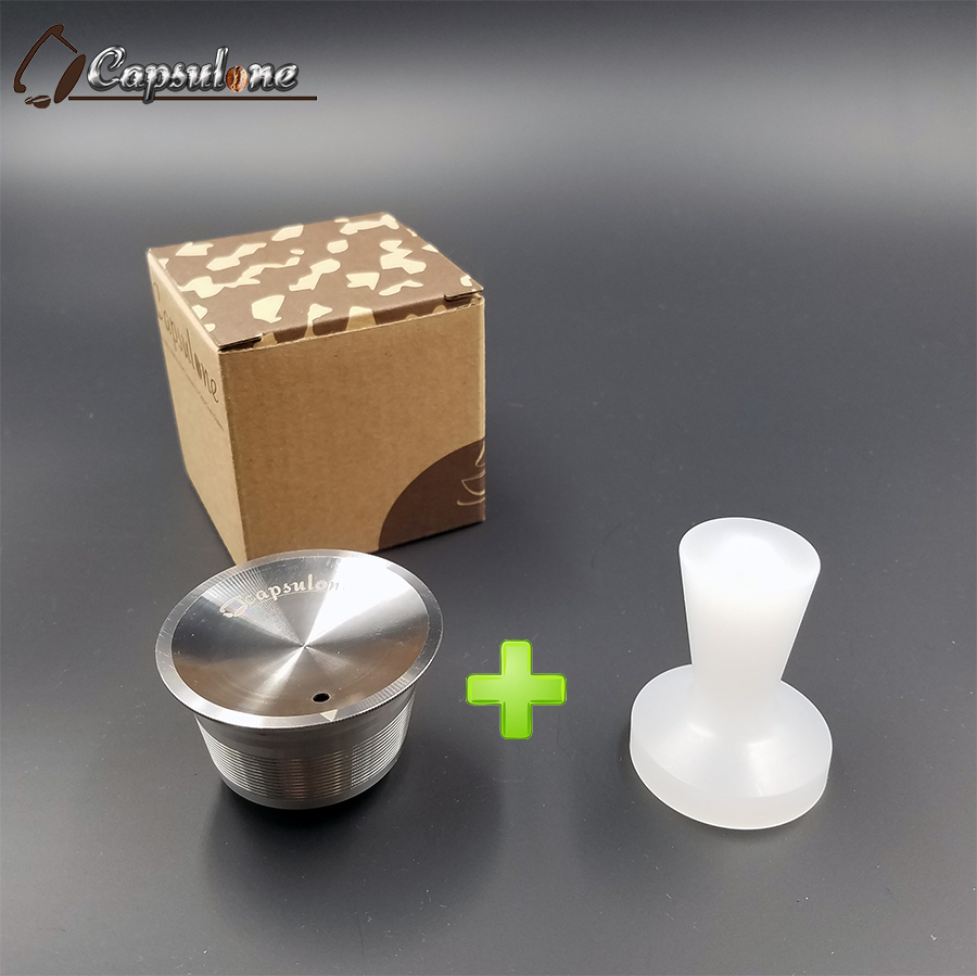 Capsulone/STAINLESS STEEL Metal dolce gusto Machine Compatible Refillable Reusable/gift Nescafe Dolce Gusto coffee cafe capsuleCapsulone/STAINLESS STEEL Metal dolce gusto Machine Compatible Refillable Reusable/gift Nescafe Dolce Gusto coffee cafe capsule