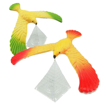 1pcs Magic Balancing Bird Science Desk Eagle with Triangle Stand Toy Physics Barycenter Exploring Kid Educational Gifts