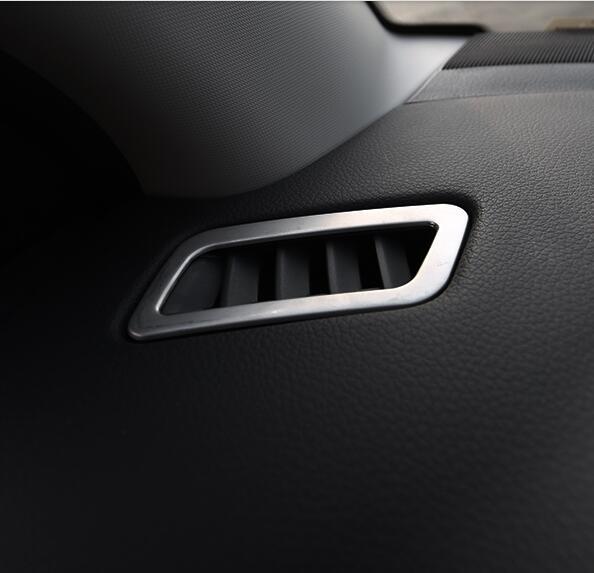 Generoso Corsia Leggenda Air Vent Decorazione Trim Sticker Interni Adesivi Di Protezione Caso Per Nissan Qashqai 2016 Accessori Car Styling