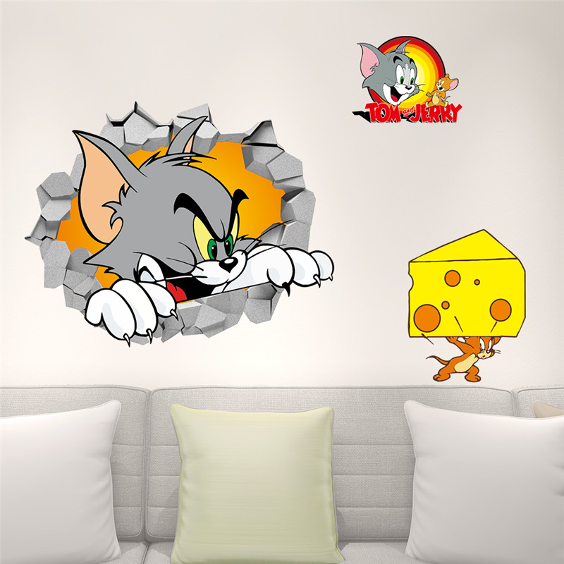 Tom And Jerry Room Decoration