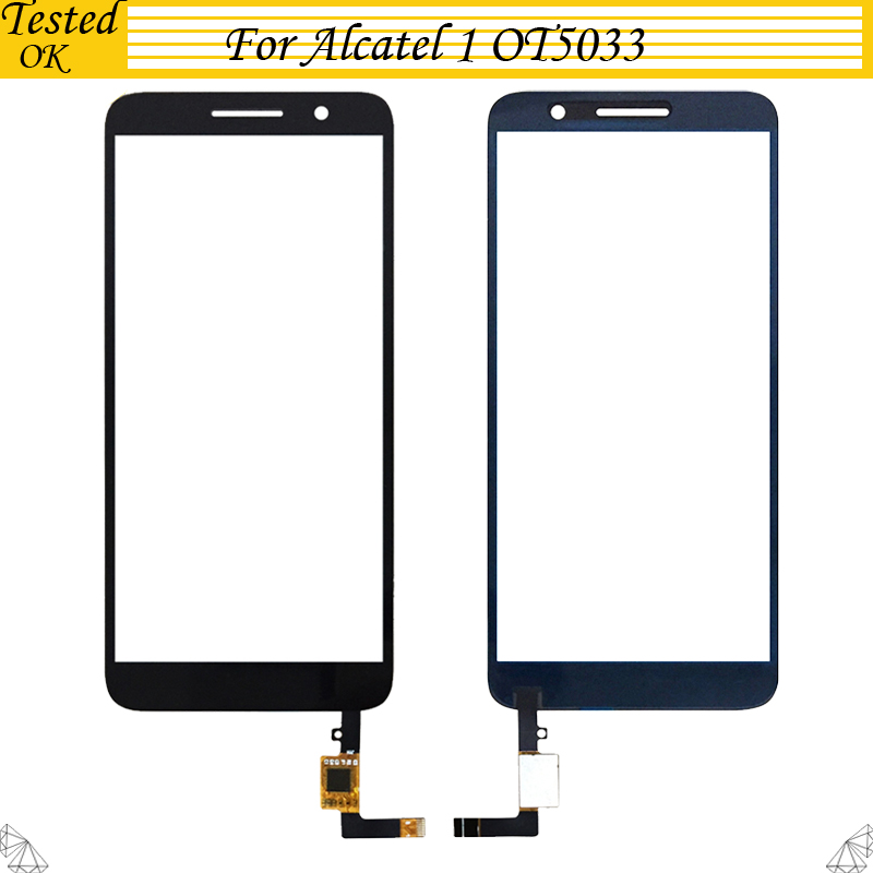 5.0inch For Alcatel 1 5033 5033D 5033X 5033Y 5033A 5033J Touch Screen Glass Sensor Panel Lens Glass Replacement