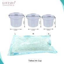 100 шт стерилизуемая пластиковая чашка с микроблейдинговыми