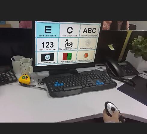 CP 27B Multifunction Eye Chart E Vision Visual chart Software hot sale