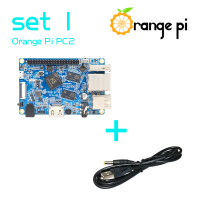 Orange Pi PC2 SET1: Orange Pi PC2+ USB to DC 4.0MM - 1.7MM Power Cable Supported Android, Ubuntu, Debian