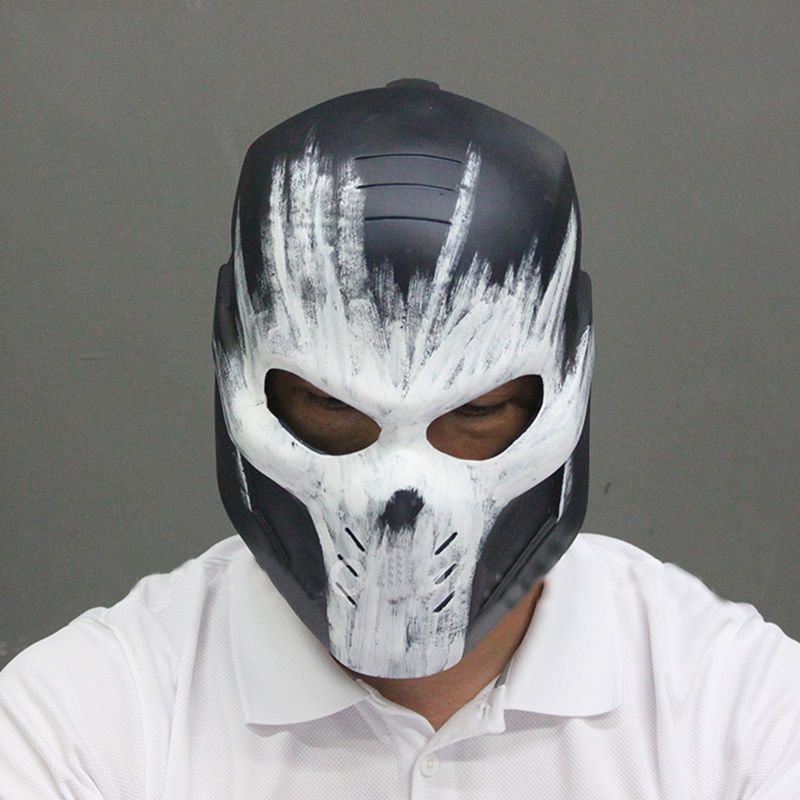 Captain America 3 Civil War Crossbones Brock Cos Black Mask Helmet Cosplay Props