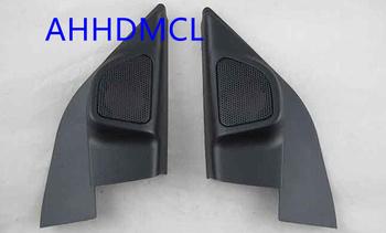 Samochodów wysokotonowy głośnik pudełka gumowe drzwi kątowe specjalne dla Nissan Sunny 2010 2011 2012 2013 2014 2015 2016 tanie i dobre opinie Skrzynek głośnikowych ABS+PC+Metal 0 34kg AHHDMCL Black Car audio door angle gum tweeter refitting