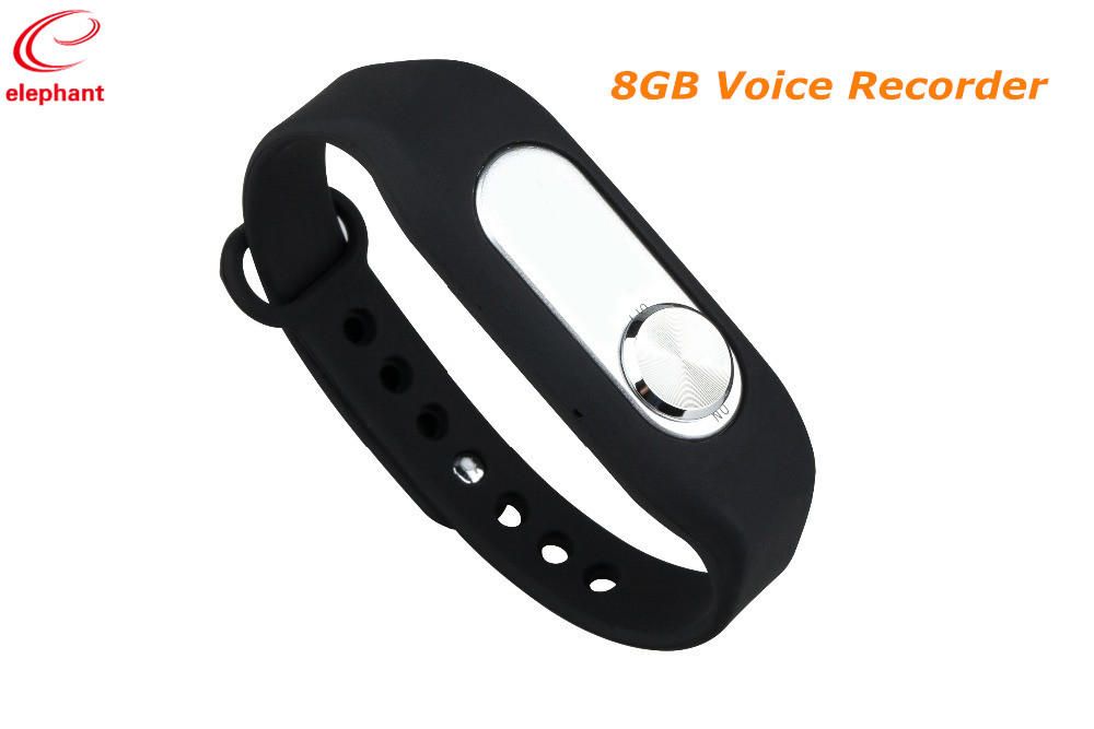 Digital Voice Recorder 2017 Neue 8 Gb Armband Aufnahme Stift Digital Voice Recorder Armband Diktiergerät 140 Stunden Aufnahme Wr-06 Entlastung Von Hitze Und Sonnenstich