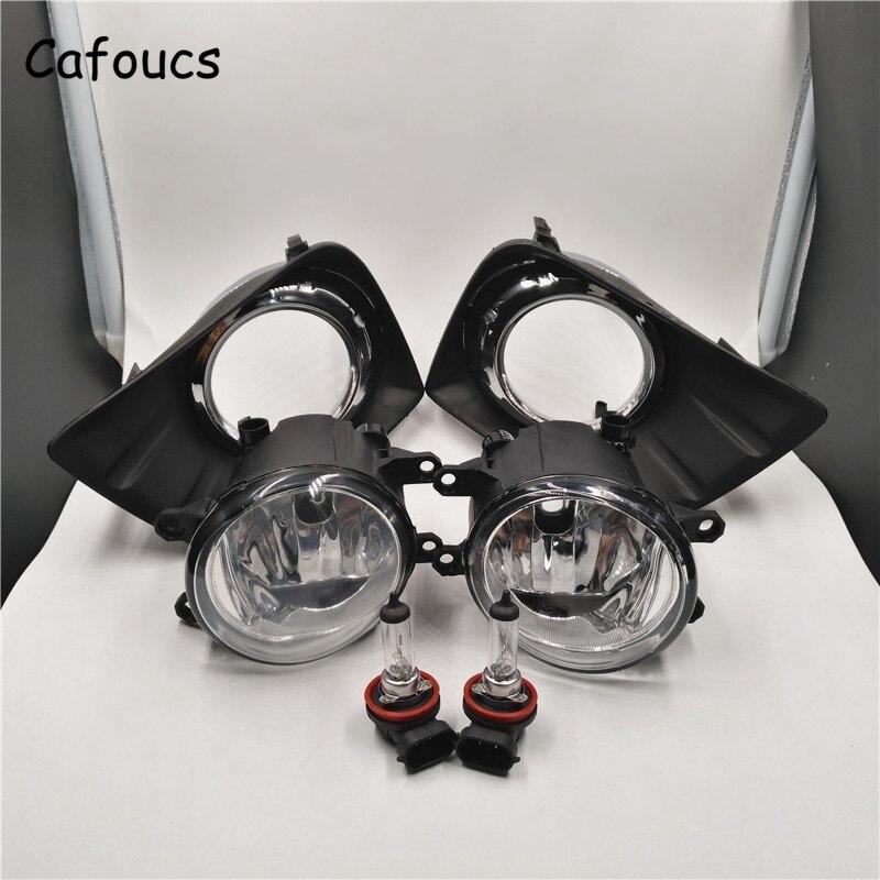 Cafoucs Car Front Fog Lights For Toyota Land Cruiser Prado FJ150 2010 2014 Fog font b