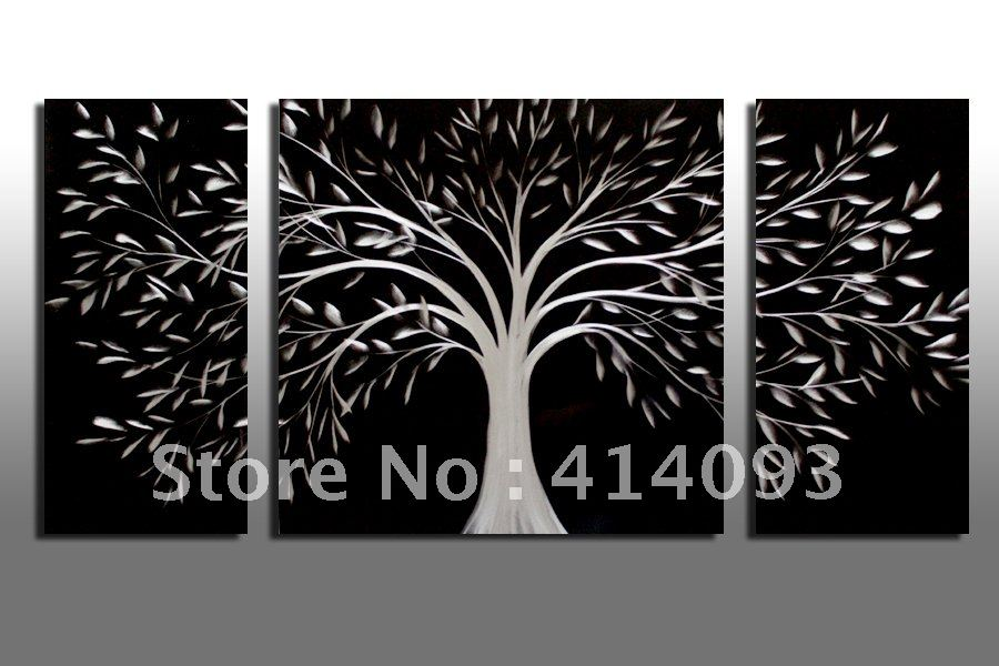 "40"" Modern Tree 3d Metal Wall Decorations Art Home Wall"
