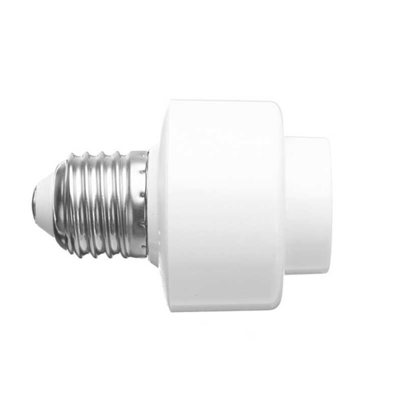 CLAITE E27 Smart WiFi Bulb Adapter Socket Lamp Holder Work With Alexa Google Home IFTTT AC85-265V