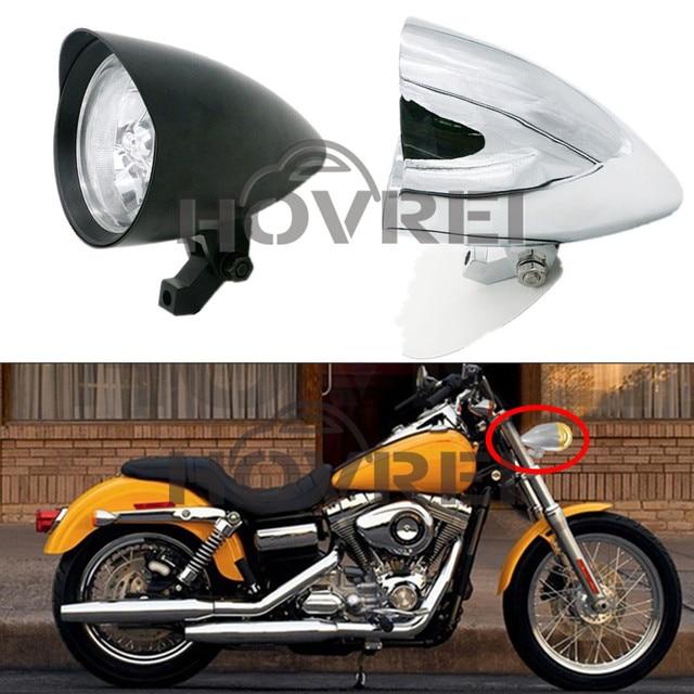 Neue Hochwertige Universal 5 55 Watt Retro Motorrad Aluminium Scheinwerfer Vintage Stil FUR Harley