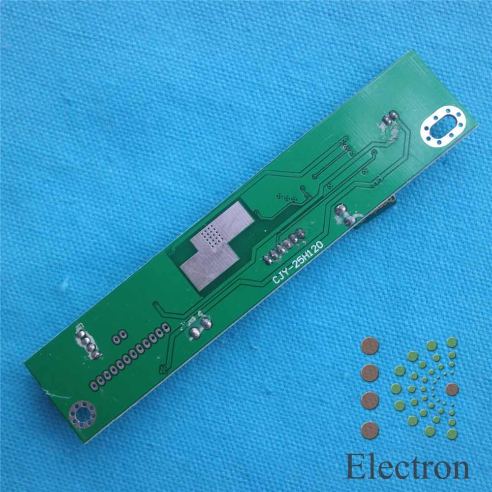 Placa de controlador de inversor de luz de fondo LED Universal voltaje de entrada de refuerzo 5,5-25 V para monitores de 7-25 pulgadas 125mm x 25mm