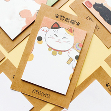 1X Cute Meng pet series Kawaii Sticky Notes Post Memo Pad School Supplies Planner Stickers Paper Bookmarks Office Stationer
