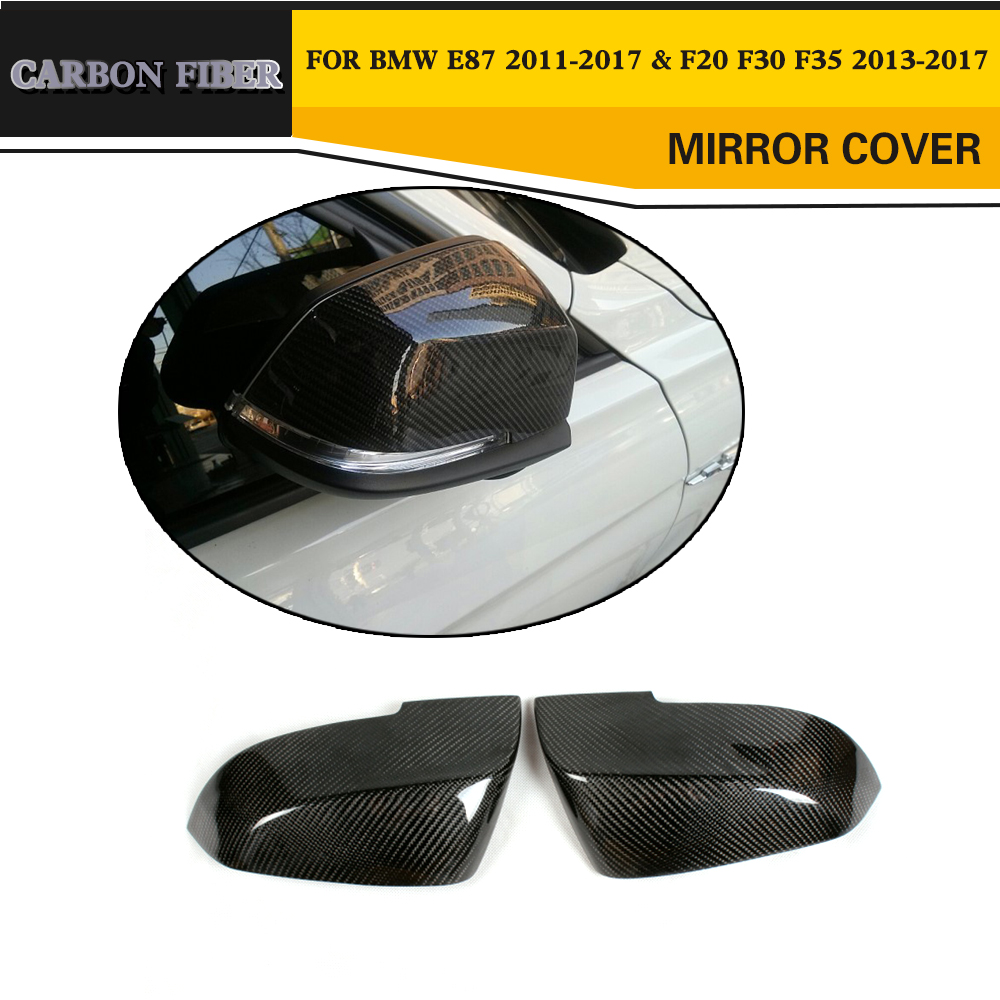 3 Series Carbon fiber Side Mirror Covers for BMW F30 F31 regular Convertible M Sport F34 GT Hatchback standard 13-17 LHD Non M
